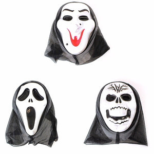Assorted Scream Halloween Special Masks Fancy Dress Mask 4131 (Parcel Rate)