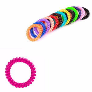 Childrens Shiny Plastic Pearl Effect Headband/Hairband In Assorted Colours (Large Letter)