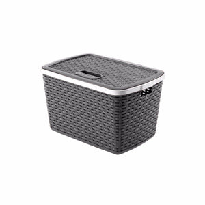 Home & Furniture, Ideal Rattan Basket For Multipurpose Use 15 Litres  0771 (Parcel Rate)