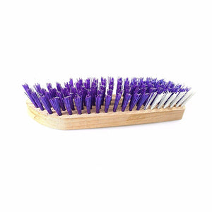 Hard Bristle Wooden Carpet Brush Ideal For Fabric Cleaning 20cm  Home ZP266 (Parcel Rate)
