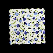 Load image into Gallery viewer, Floral Protection Bath Mat PVC Anti Skid Water Resistant Bath Mat 44cm   0278 (Parcel Rate)