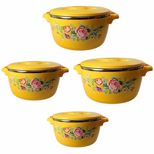 Food Warmers Complete Family Set Hot Pots 16-20-24-28cm Set Of 4 Kitchen  3240 (Big Parcel Rate)