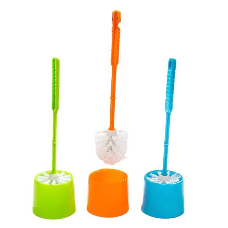Urban Living Plastic Toilet Brush Bathroom Cleaning Mixed Colour 4648 (Parcel Rate)