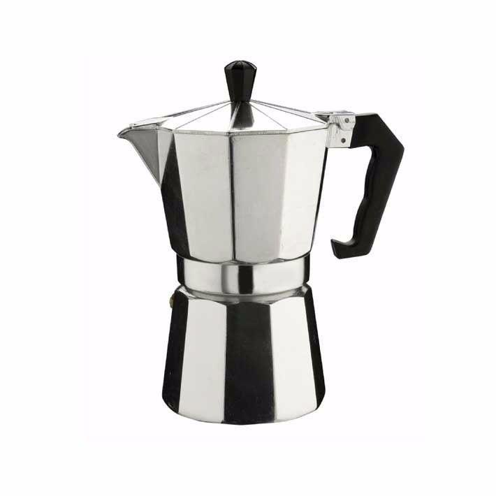 1 Cup Italian Espresso Stove Top Coffee Maker Continental Percolator Pot Jug Kitchen 3417 (Parcel Rate)