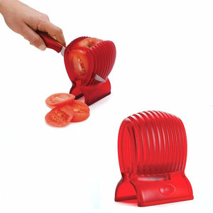 Kitchen Easy Clean Slicing Helper For Soft SaladFruit & Veg Like Tomato 4474 (Parcel Rate)