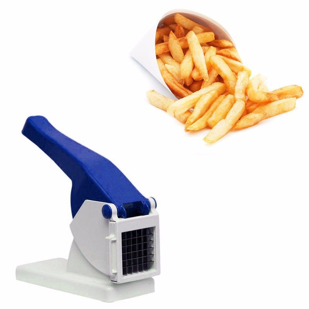 Potato Chipper Vegetable Cutter Slicer With Interchangeable Blades 0671 (Parcel Rate)