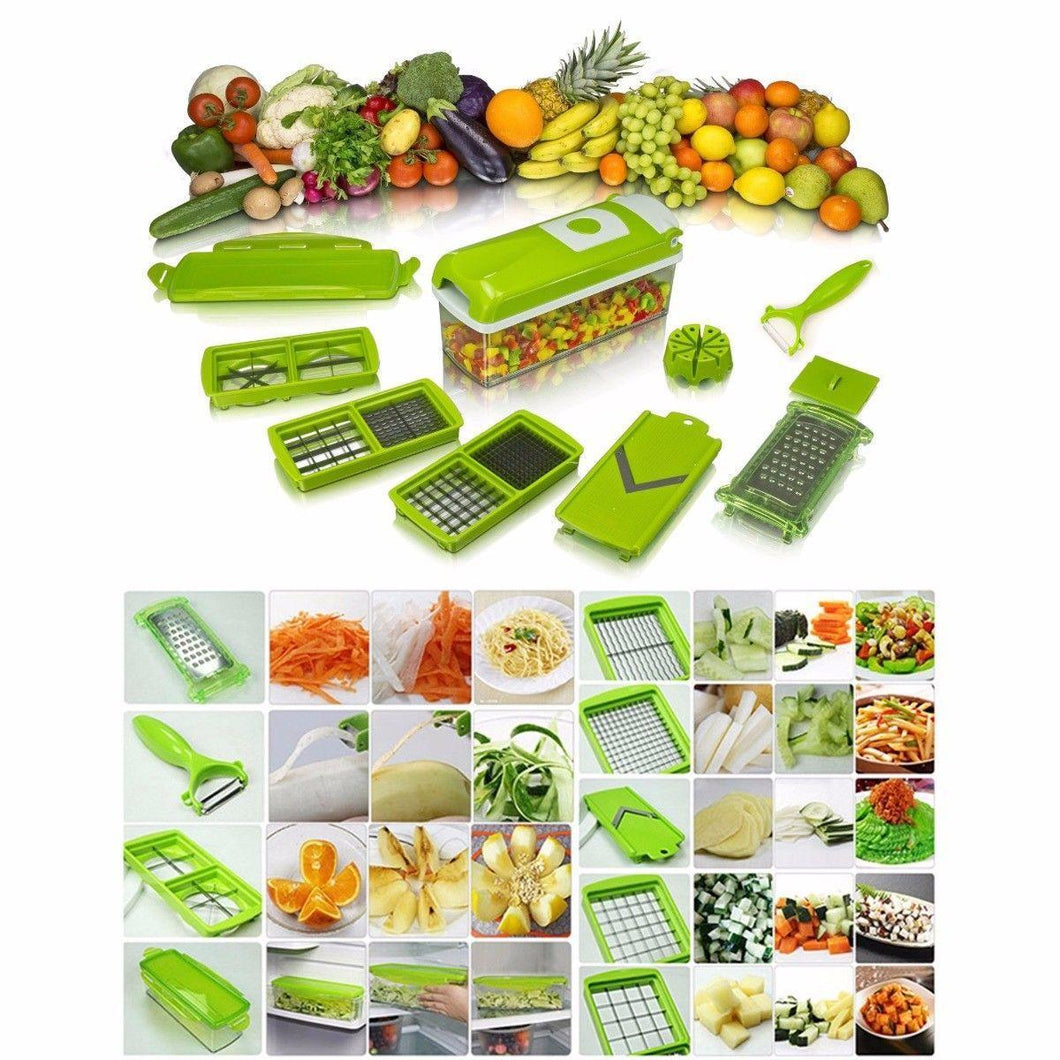 Nicer Dicer Dishwasher Safe Easy To Store Low Power 11 Items 1044 (Parcel Rate)