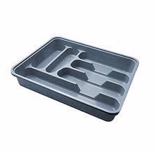 Load image into Gallery viewer, Assorted coloured multi purpose use large cutlery tray Approx 38.5cm x 30.5cm    4001 (Parcel Rate)
