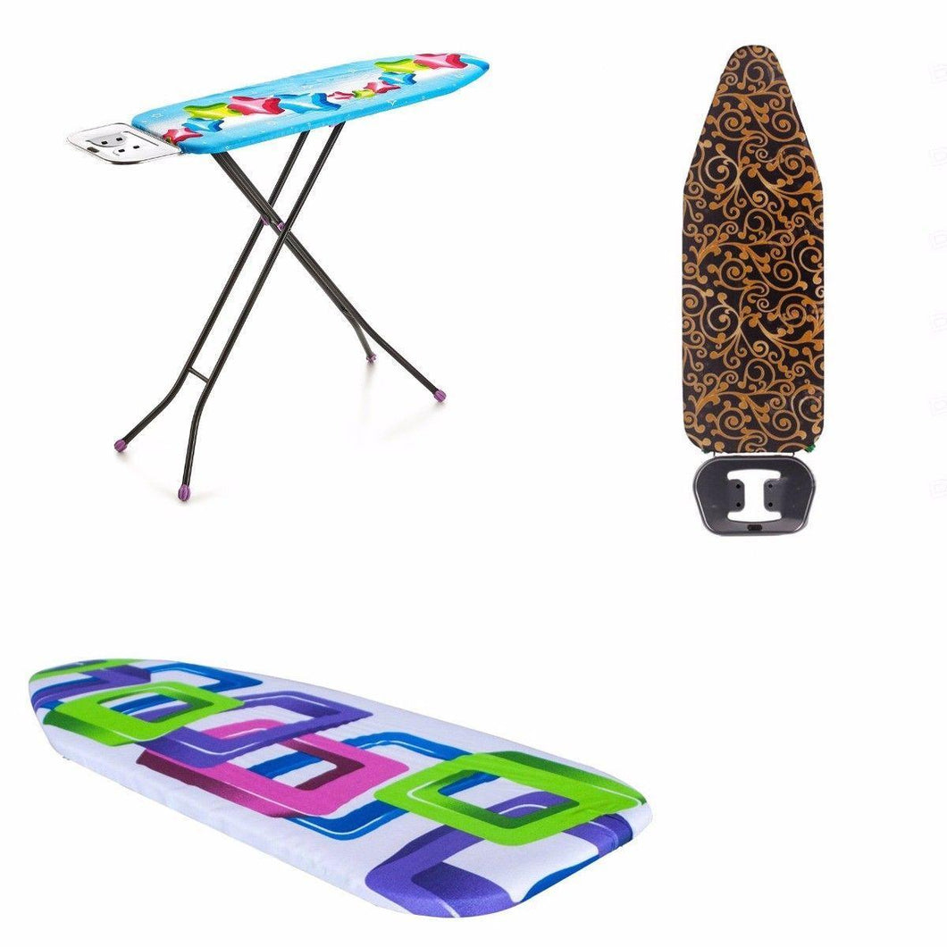30cm x 97cm Star Ironing Board Assorted Colours & Designs 15002 (Parcel Rate)