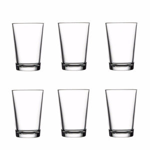 Kitchen Glassware Alanya Long Drinking Glasses 6 Pack 260ml Glassware Home 52432 (Parcel Rate)