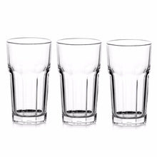 Load image into Gallery viewer, HIGH QUALITY CASABLANCA 3 PCS LONG DRINK GLASS FULLY TEMPERED   9285 (Parcel Rate)