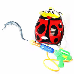 Childrens Novelty Ladybird Water Holding Tank With Attached Water Gun Outdoors Toys 4568 (Parcel Rate)