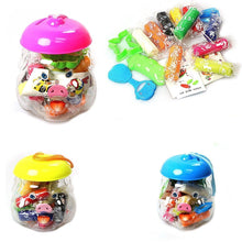Load image into Gallery viewer, Childrens Assorted Colour Play Dough With Cutter In Pig Jar Art & Craft 0685 (Parcel Rate)