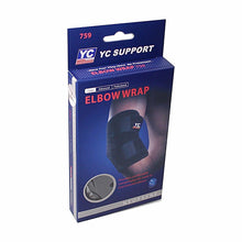 Load image into Gallery viewer, YC Support Core Elbow Wrap For Comfortable Compression Home Health 9997 (Large Letter Rate)