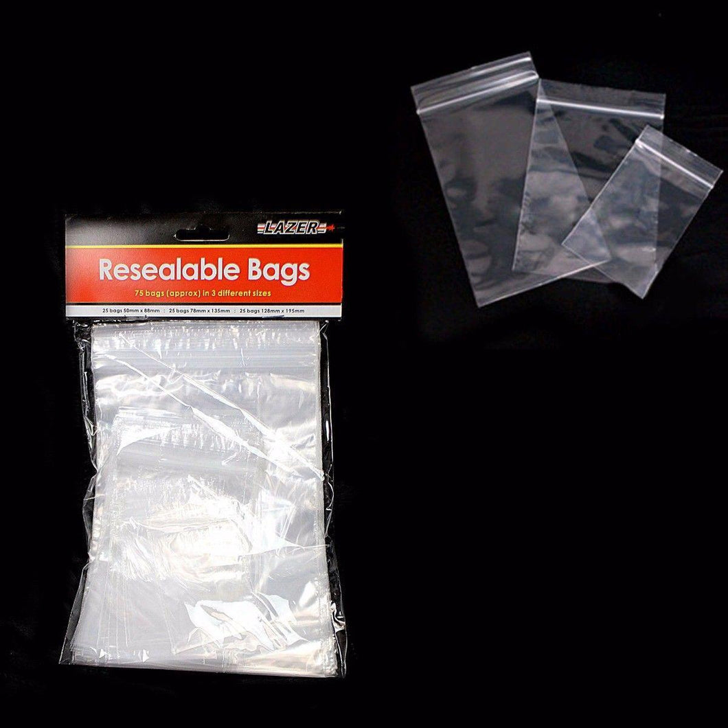 Resealable Plastic Bags For Multi Purpose Use 1510 (Large Letter Rate)