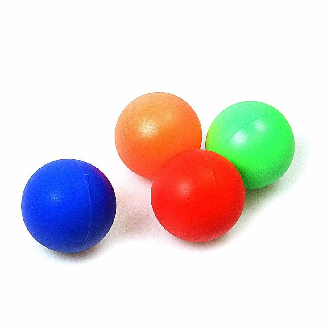 Childrens Assorted Colour Small Plastic Balls 2531 (Parcel Rate)