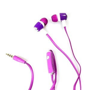 AINY Mix Stereo Earphones In Assorted Colours 3949 (Large Letter Rate)