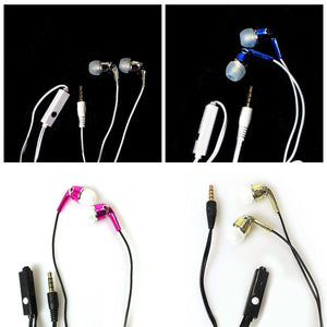 New AIMA Stereo Earphones With Inline Mic' 4105 (Large Letter Rate)