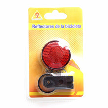 Load image into Gallery viewer, Bicycle Reflector Red Bicycle Motorbike 1843 (Large Letter Rate)