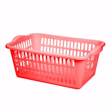 Load image into Gallery viewer, ASSORTED COLOUR CLOTH BASKET MULTI PURPOSE USE  0344 (Parcel Rate)