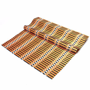 Assorted Colour Rattan Style Placemat For Multipurpose Use Home Kitchen 4287 (Parcel Rate)