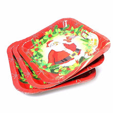 Load image into Gallery viewer, Novelty Assorted Design Christmas Plates Ideal For Parties 1672 (Large Letter)