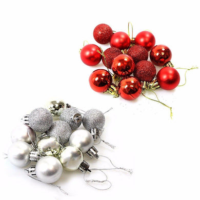 Beautiful Christmas Tree Hanging Decor Balls 12 Pack 1442 (Parcel Rate)