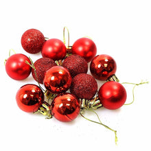 Load image into Gallery viewer, Beautiful Christmas Tree Hanging Decor Balls 12 Pack 1442 (Parcel Rate)