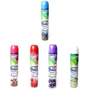 New Belux Air Freshener 100Ml Extra Assorted Fresh Scents  405 (Parcel Rate)