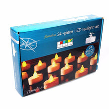 Load image into Gallery viewer, 1 Pack LED Beautiful Candle Light Tealight Set  2718 (Parcel Rate)