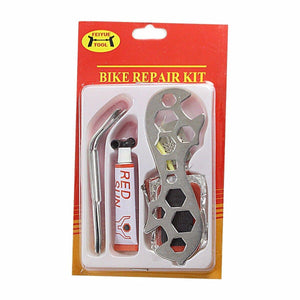 Bike Repair Kit Tyre Puncture Kit For Bikers 1559 (Parcel Rate)