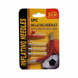 Pack Of 5 Inflating Needles Suitable for Balls And Inflatables  2552 (Large letter)