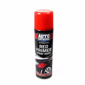 Spray Paint Can Gloss RED PRIMER Aerosol AUTO EXTREME 250ML   1913 (Parcel Rate)