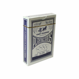 1 Pack Cart Classic Playing Cards In Red And Blue 0985 (Large Letter Rate)
