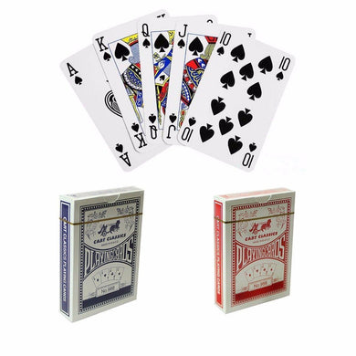1 PACK CLASSIC CART PLAYING CARDS IN RED AND BLUE   0985 (Large Letter Rate)