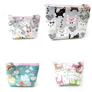 LADIES AND GIRLS 'CAT' PURSE  4503 (Parcel Rate)