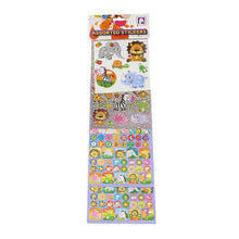 Load image into Gallery viewer, Assorted Sea Life Kids Boys Girls Stickers 3614 (Parcel Rate)