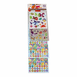 Assorted Sea Life Kids Boys Girls Stickers 3614 (Parcel Rate)