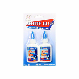 2 Pack Of White School Glue Washable 2841 (Large Letter Rate)