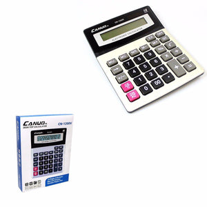 Canuo Desktop Electronic Calculator 12 Digits Home Office 0708 (Large Letter Rate)