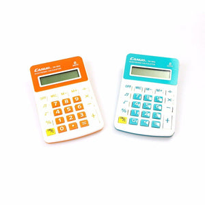 Canuo Calculator Assorted Colours 3141 (Large Letter Rate)