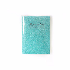Happiness Diary Notebook Assorted Colours Stationery 3258 (Parcel Rate)