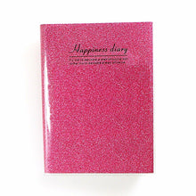 Load image into Gallery viewer, Happiness Diary Notebook Assorted Colours Stationery 3258 (Parcel Rate)