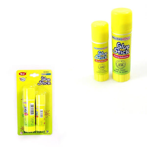 2 Pack Glue Stick 2 Sizes Small And Large Stick Home School Use Arts & Craft 0752 (Large Letter Rate)