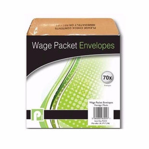 Pack Of 70 Wage Packet Envelopes Office 3200 (Large Letter Rate)