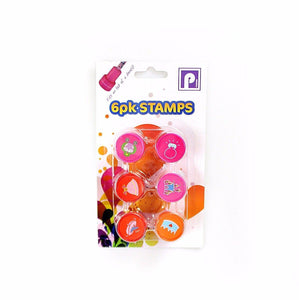 Childrens Fun 6 Pack Stamps Arts & Craft 3712 (Parcel Rate)