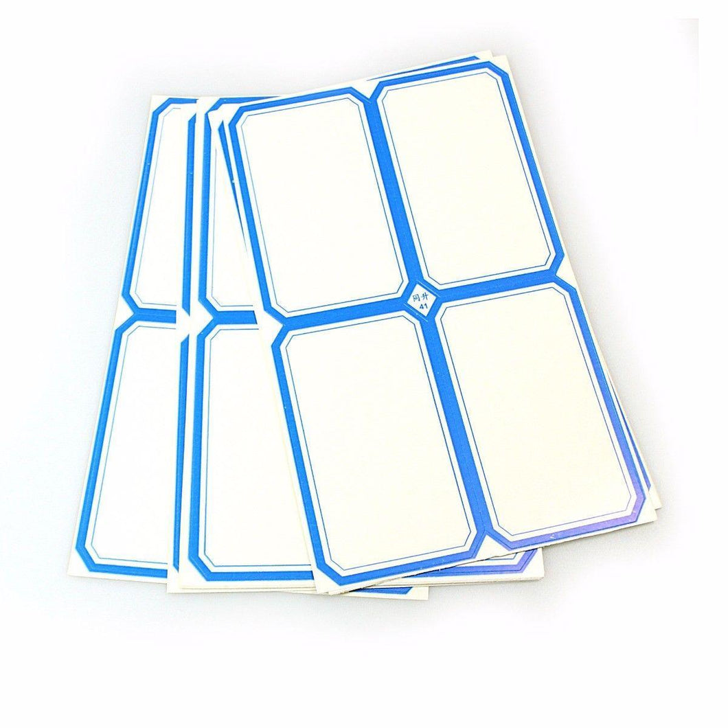Large Sticky Labels In Blue Stationery Home 4157 (Large Letter Rate)