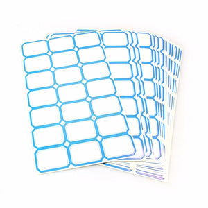Sticky Labels In Blue And Red Stationery Home 4154 (Large Letter Rate)
