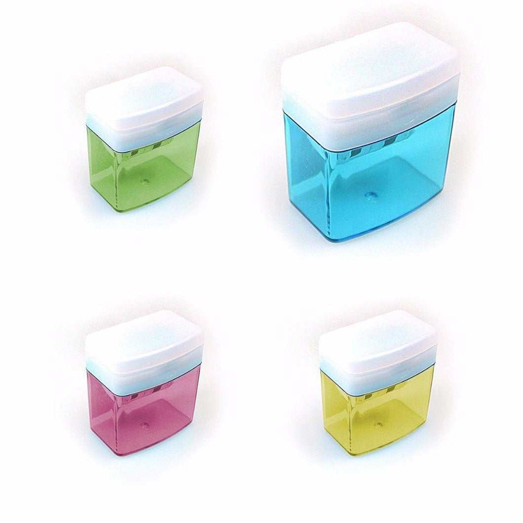 Pencil Sharpeners Assorted Colours Arts & Crafts Stationery 3522 (Parcel Rate)