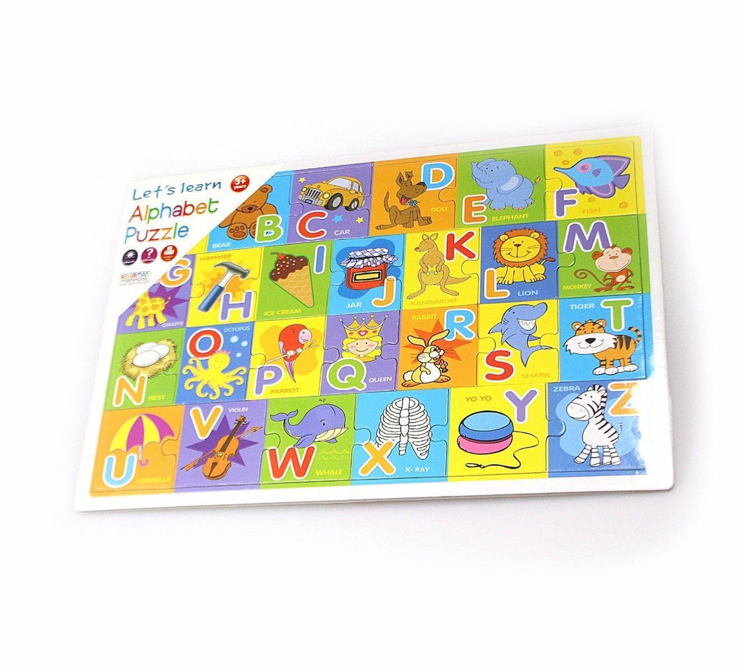 Childrens Lets Learn Alphabet Puzzle Toy 0123 (Parcel Rate)